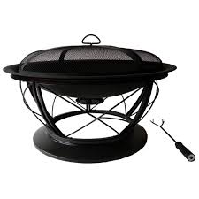 Firepit And Grill by Pleasant Hearth Langston 30 In Steel Fire Pit Ofw821rc The Home
