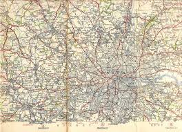 search road map area road map michelin map c1925 posted to show flickr