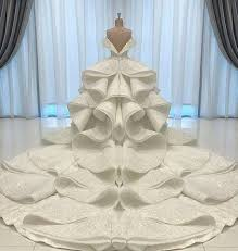 wedding dress qatar a of an exquisite bridal couture gown by michael cinco for a