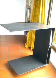 Etagere Metal Occasion Table De Lit A Roulettes Table Pour Lit Support Pc Et Tablette Table De Lit Pour Ordinateur