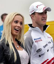 cora si e social ralf schumacher s ex cora poses for after divorce