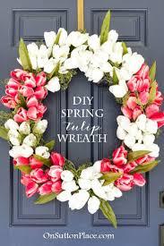 Spring Wreath Ideas 162 Best Front Door Wreaths Images On Pinterest Wreath Ideas