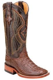 s boots cowboy alligator boots for ferrini s hornback