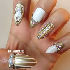 211 best glamour nails images on pinterest stiletto nails bling