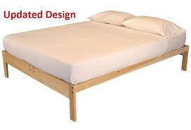 brilliant full size platform bed frame diy full size platform bed