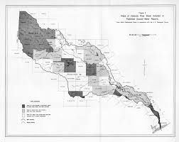 Colorado River Map Texas by Numbered Report 51 Texas Water Development Board