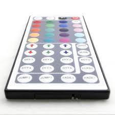 Remote Led Light Strips by 44 Key Diy Custom Rgb Multicolor Led Light Strip Controller Ir Remot
