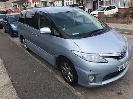 toyota estima hybrid 7 seater pco only 10750 in heathrow