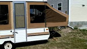 1984 jayco j1008 sg pop up camper youtube