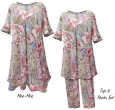 sold out pastel floral rainbow print moo moo dress sleepwear