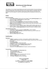 marketing cover letter cover letter for application sales and marketing write happy