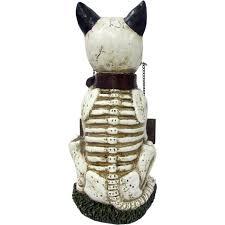 Plastic Halloween Dog Skeleton Skeleton Dog Greeter