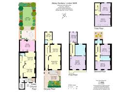 Floor Plan Of Westminster Abbey 6 Bed End Terrace House For Sale In Abbey Gardens St John U0027s Wood