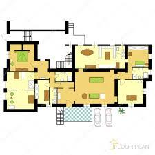 floor plan u2014 stock vector slavicapopovska 7274658