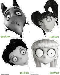 Halloween Masks Crafts by Frankenweenie Halloween Masks Mom Spark Mom Blogger