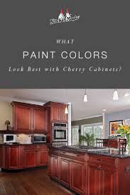 best wall color with oak kitchen cabinets what paint colors look best with cherry cabinets cherry
