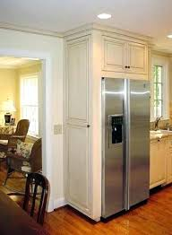 refrigerator that looks like a cabinet refrigerators that accept cabinet panels inch side by built in