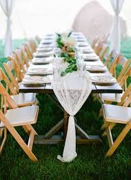 backyard wedding themed