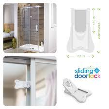 Patio Door Lock by Amazon Com Sliding Door Lock For Child Safety Baby Proof Doors