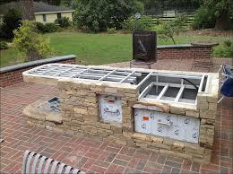 kitchen outdoor grill island ideas backyard kitchen stone
