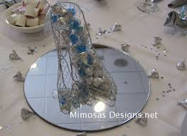Cinderella Wire Carriage Centerpieces by Cinderella Princess Theme Mimosa U0027s Design