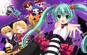 anime halloween wallpaper dream meltic halloween vocaloid zerochan anime image board