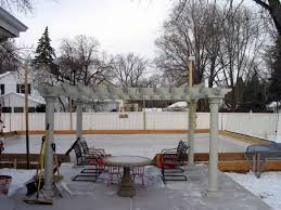 Backyard Rink Ideas Backyard Rink Ideas Gogo Papa
