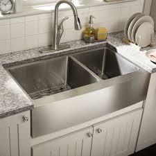 decorating farmhouse kitchen sink stainless steel apron sink