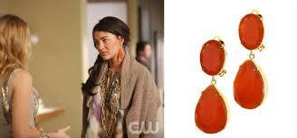gossip girl earrings s closet gossip girl style and