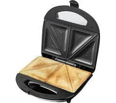 Which Sandwich Toaster Buy Logik L02sms17 Sandwich Toaster Black U0026 Silver Free
