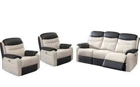 canapé relax cuir 2 places canape canape electrique relax roche bobois collection avec s