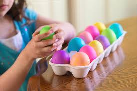 a dozen easter egg safety tips