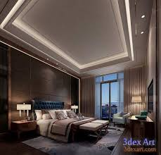 Interior Design For Bedrooms Pictures New False Ceiling Designs Ideas For Bedroom 2018 With Led Lights