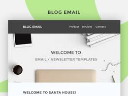 free email newsletter psd template uifuse
