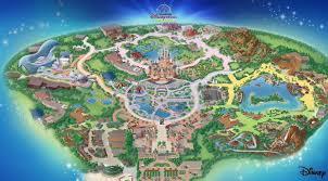 disney park maps shanghai disney resort disneyland park map overview disneyexaminer