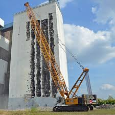 hydraulic crane crawler construction lifting hs 895 hd