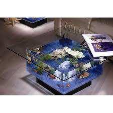 wayfair square coffee table you ll love the 25 gallon aqua coffee table aquarium tank at wayfair