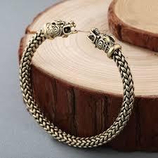antique jewelry bracelet images Chengxun men nordic viking dragon bangle antique jewelry solid jpg