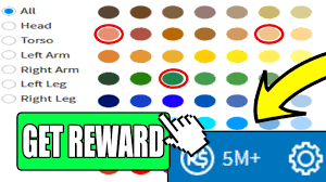 new secret color combination gives you 5m free robux roblox free