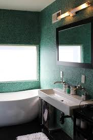 dark green bathroom tile ideas and pictures