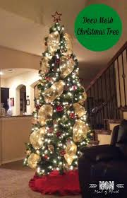 how to decorate your tree using deco mesh real