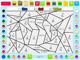 math coloring worksheets 1st grade