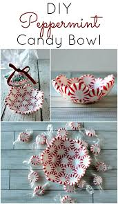 diy peppermint bowls princess