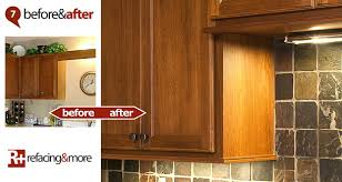 Cabinet Refacing Veneer Cabinet Refacing Refacing U0026more Before And After Gallery