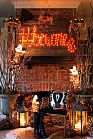 Halloween Room Decoration - how to decorate for halloween spooky forest living room