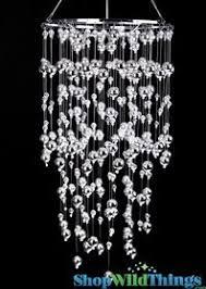 Chandelier Acrylic Wedding Chandeliers Event Lights Shopwildthings
