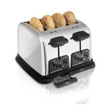 Hamilton Beach Cool Touch Toaster Hamilton Beach 4 Slice Chrome Toaster 24790 The Home Depot