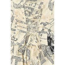 Harry Potter Map Harry Potter Kurzes Kleid Frauen