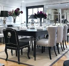 black dining room table chairs black dining room dine and dazzle transitional glass table chairs cvid