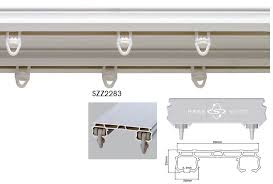 ceiling mount curtain track the silent gliss system has a